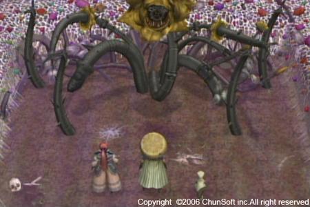 風来のシレン3(からくり屋敷の眠り姫)のイメージ